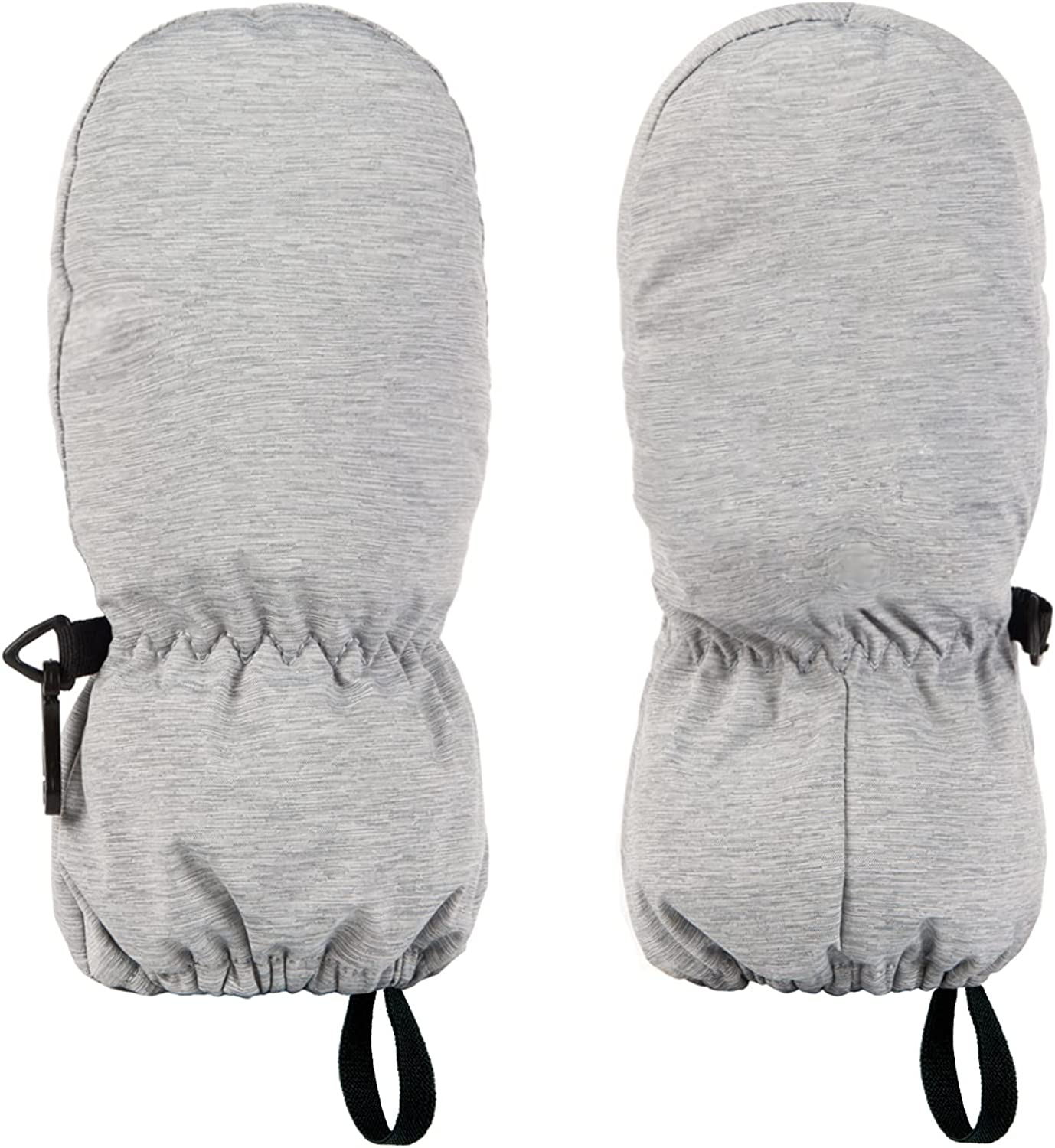 HIGHCAMP Toddlers Kids Winter Snow Mittens Waterproof Infant Baby Cold Weather Glove Easy on Stay on