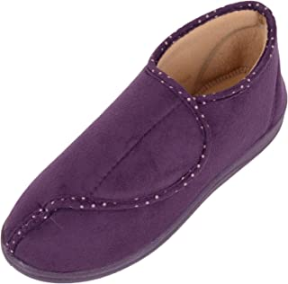 ABSOLUTE FOOTWEAR Womens Dr Lightfoot Slippers/Indoor Shoes with Memory Foam Insole