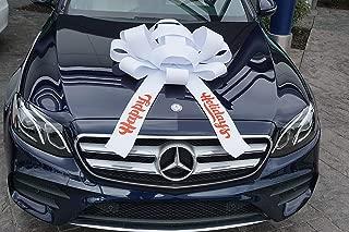 CarBowz Big Happy Holidays Car Bow, Giant 30