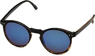 Springfield - Gafa de Cristal Tornasolado y Montura Corozo Gafas de sol, Black, 0 para Hombre