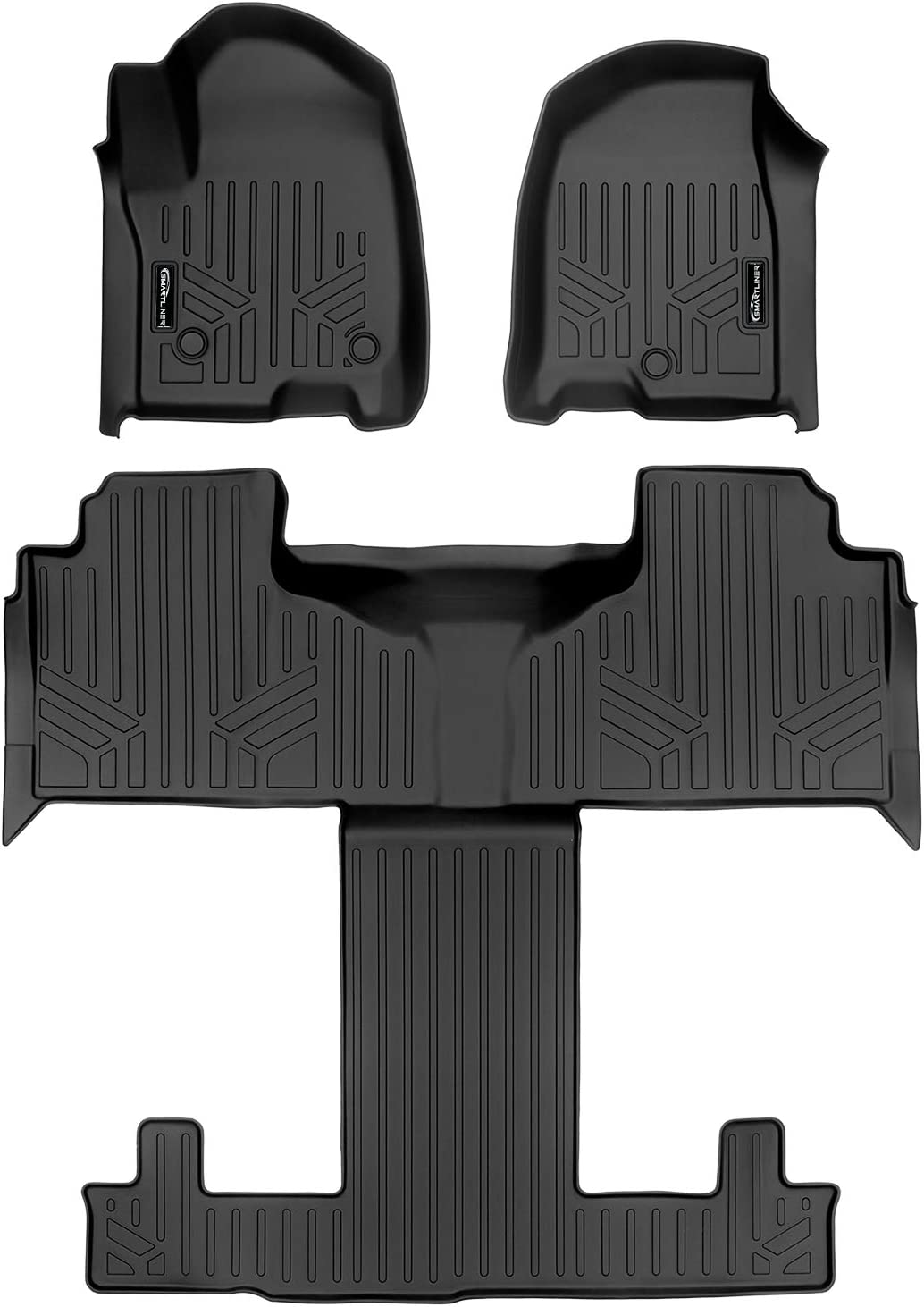 Beauty products SMARTLINER Custom Fit Floor Mats 3 Liner San Diego Mall Chevro Row 2021 Set for