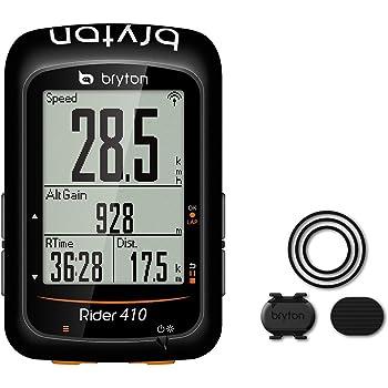 Bryton Rider 410C Ordenador GPS Unisex - Adulto, Negro, M: Amazon ...