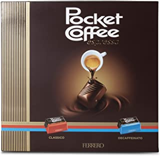 Ferrero Pocket Coffee, Confezione Bigusto da 20 Praline - 250 gr