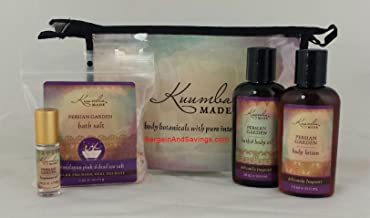 Kuumba Made Four (4) Treasures Collection Gift Set (Persian Garden)
