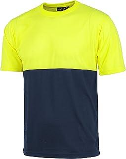Amazon.es: Camisetas Amarillas - Ropa y uniformes de trabajo / Ropa especializada: Ropa
