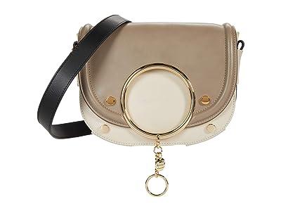 See by Chloe Mara Crossbody (Motty Grey) Handbags