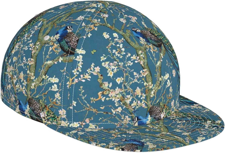 Fantasy Almond Blossom Peacock Baseball Hat Adjusta Colorful Super-cheap Cap Mail order