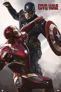 Iron Man Marvel Captain America - Civil War Poster Captain America (24