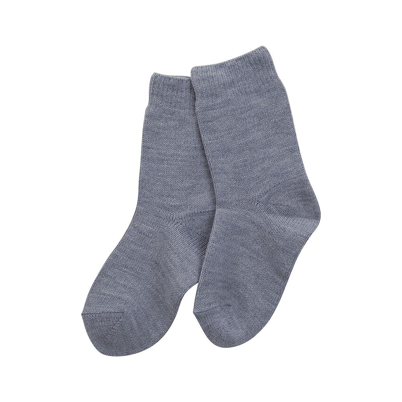 切断するレトルトクロニクル(コベス) KOBES ゴムなし 毛混 超ゆったり特大サイズ 大きいサイズ 靴下 日本製 婦人靴下