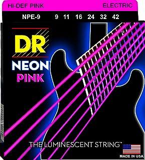 سلاسل غيتار كهربائي من DR سترينغز HI-DEF NEON (NPE-9)