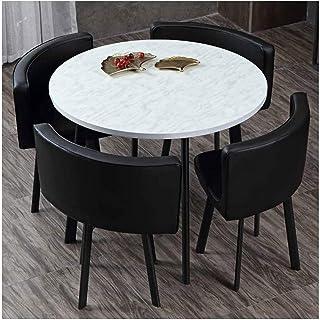HLZY Mesa de Comedor Juego de Muebles Oficina mesas de recepción y sillas de Cocina Salón Comedor y Juego de sillas Cafetería Postre Tabla Hotel Sala de reuniones La negociación de Negocios Cafetería