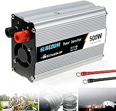 300w 500w 600w 800w 1000w 1200w 1500w 2000w Inversor De Energia De Onda Senoidal Pura Com Tomadas Ac E Porta Usb Isqueiro ...
