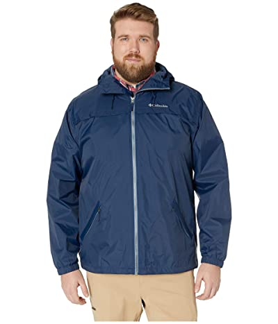 Columbia Big Tall Oroville Creektm Lined Jacket (Collegiate Navy/Mountain Zip) Men