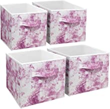 Sorbus Cube Storage Bins Cube Foldable Fabric Basket Bin Box Shelves Cubby Cloth Organizer - Great for Kids Nursery Closet...