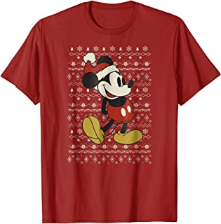 Vintage Mickey Mouse Christmas T-Shirt