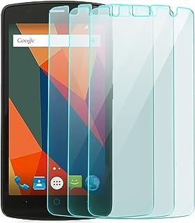 zanasta skärmskyddsfolie av härdat glas för ZTE Blade L5 skärmskyddsfolie pansarfilm glasfolie skyddsfolie   HD genomskinl...