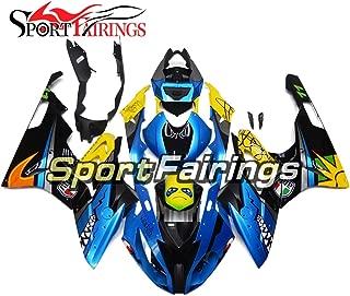 Sportfairings Shark Blue ABS Plastics Injection Motorcycle Fairing Kits For BMW S1000RR Year 2015-2016 Fairings