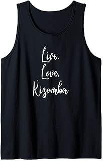 Kizomba Funny Dance Komba Semba Angola Music Dancing Tank Top
