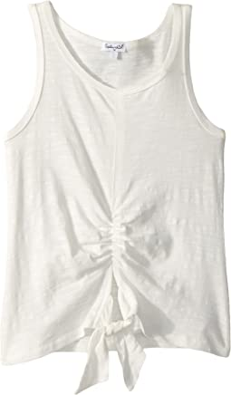 Tie Front Tank Top (Big Kids)