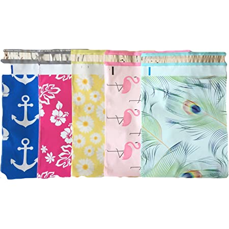 30 Designer Printed Poly Mailers 10X13 Shipping Envelopes Bags CITRUS