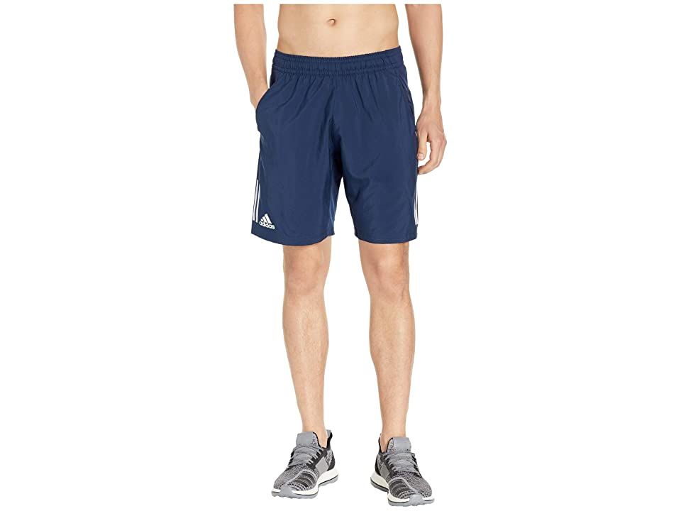 adidas Club 3-Stripes Shorts 9 (Collegiate Navy/White) Men's Shorts