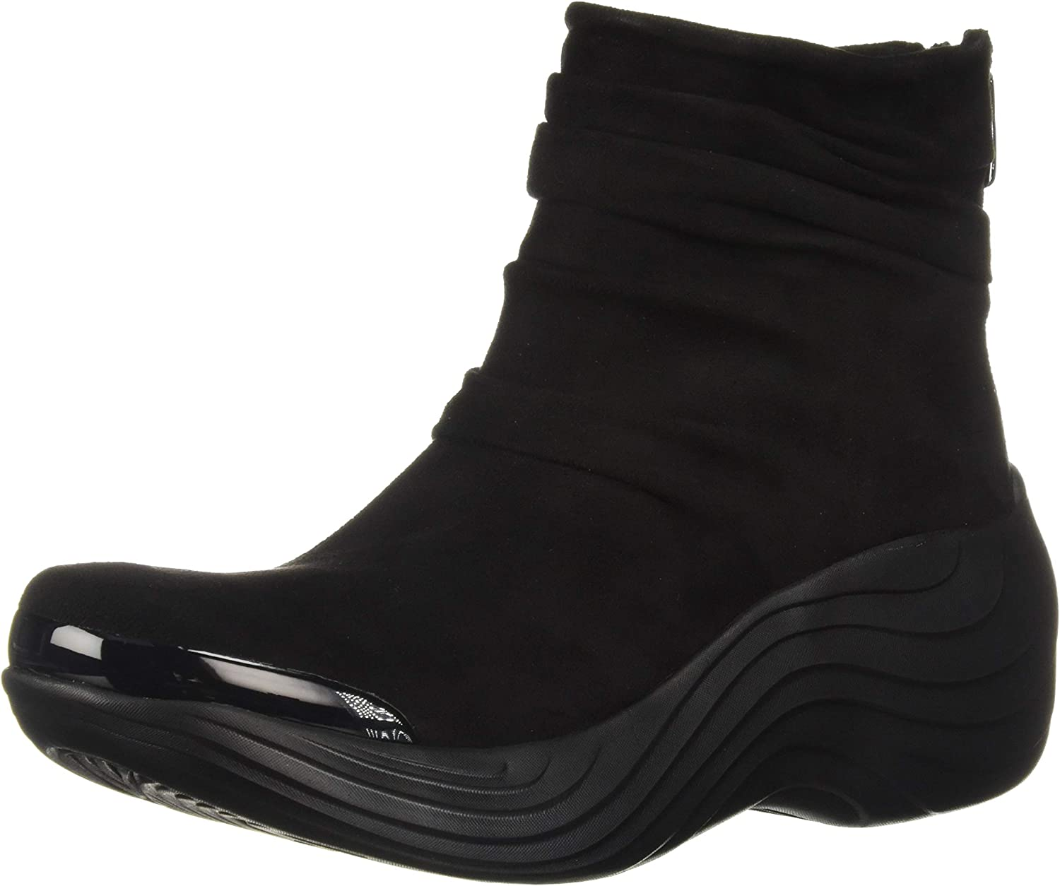 BZees Womens Zizzle Ankle Boot
