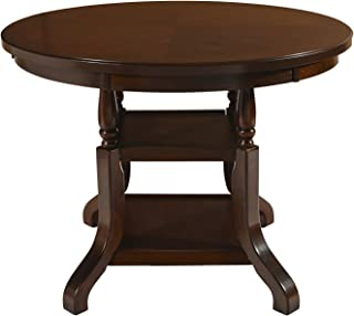 New Classic Furniture Bixby Dining Table, Counter, Espresso