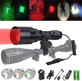 VASTFIRE Zoomable Predator Light with Interchangeable...