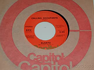 sub-rosa subway / calling occupants 45 rpm single