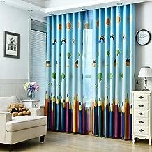 MYRU 1 Pair Dining Room Curtains,Kids Room Darkening Curtains,Room Decor for Childrens Living Room Bedroom(39