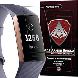 Ace Armorshield (8 Pack) Premium HD Waterproof Screen Protector Compatible with Fitbit..