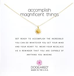 Dogeared Accomplish Magnificent Things Necklace 16""
