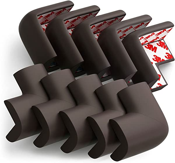 Eoney Corner Guards Corner Protectors For Baby Safety Furniture Table Safety Bumper With 3M Tape 10 Pack