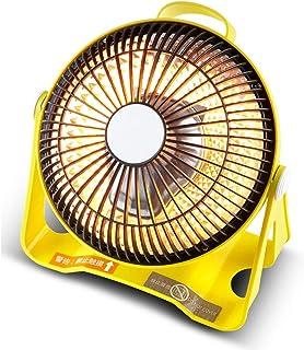 Moolo Calefactor, 200W Mesa Calentador Eléctrico Ángulo Ajustable Similar a la Energía Solar Mute Interior Compartida