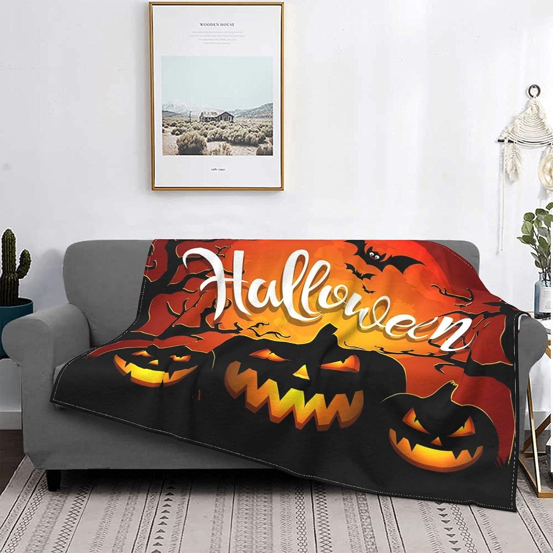 Halloween Blankets Lightweight Direct store Popularity Bed Blanket Home Durable Quilt De