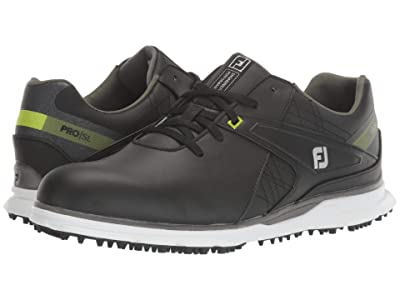 FootJoy Pro SL (Black/Lime Trim) Men