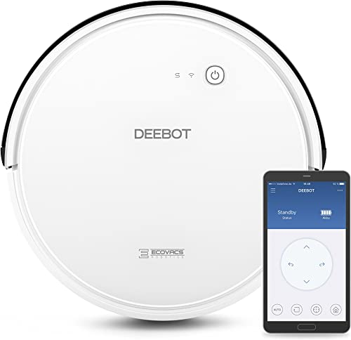 ECOVACS DEEBOT 600 Smart Robotic Vacuum Cleaner Max Model for All Floor Types with Wi-Fi Connectivity product image