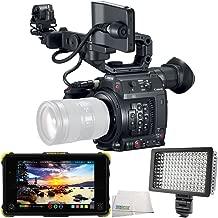 Canon EOS C200 EF Cinema Camera 4PC Bundle – Includes Atomos Shogun Flame 7