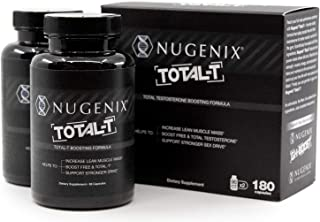 Nugenix Total-T: Men's Total Testosterone Boosting Formula. All New, High Potency, High Bioavailibility Testosterone Boost...