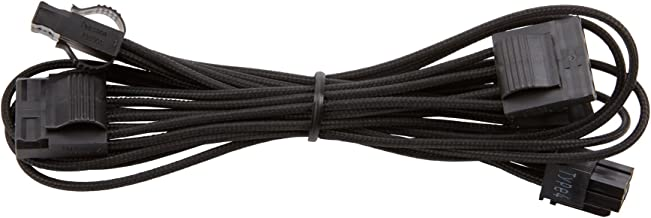 Corsair CP-8920193 Premium Individually Sleeved Peripheral Cable, Black, for Corsair PSUs