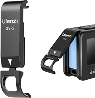 ULANZI Select G9-2 Protective Cover for Gopro Hero 9 Black, Battery Charging Door Vlog Accessory for Go pro 9 Action Cam