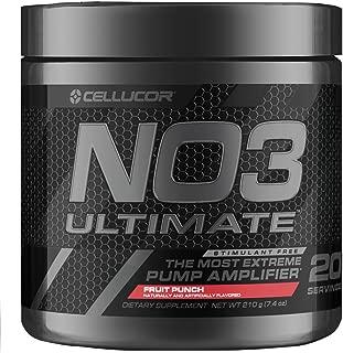 Cellucor NO3アルティメット酸化窒素ブースター&ポンプ増幅剤 フルーツ・パンチ 20回分 ビタミン剤