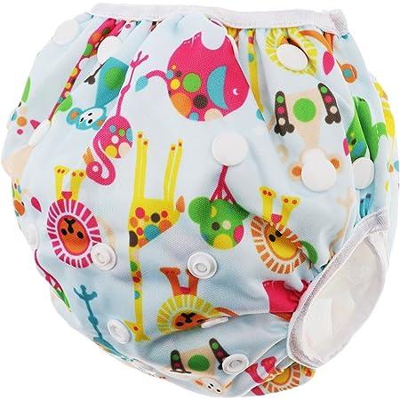 全8種類 子供 赤ちゃん ベビー服 水泳パンツ スイミング用水着 オムツ機能付 スイムパンツ - サーカス