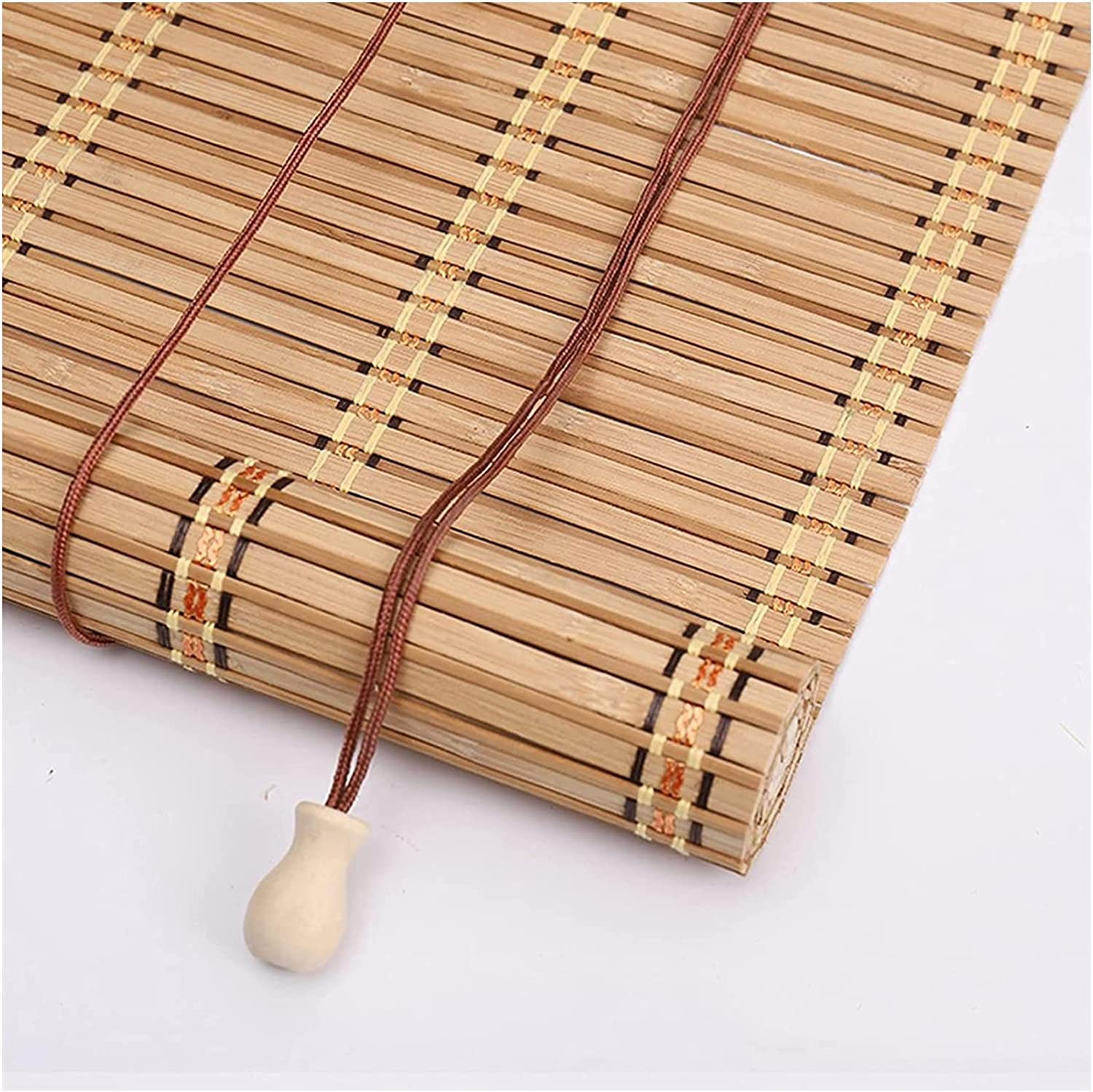 MTDWEITOO San Jose Mall Bamboo Blinds for Windows Roll Blind shipfree Up Retro