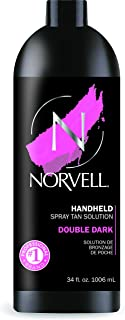 Norvell Premium Sunless Tanning Solution – Double Dark, 1 Liter