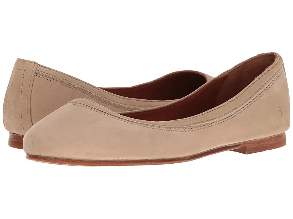 Frye Carson Ballet (Taupe Oiled Nubuck) Women