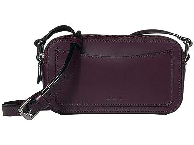 Lodis Accessories Audrey Arabella Crossbody (Deep Plum/Ivy) Handbags