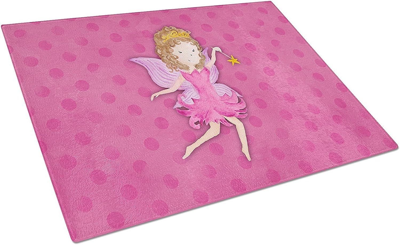 Caroline's Treasures BB7406LCB Fairy Princess Watercolor Chopping Board, Large, Multicolor