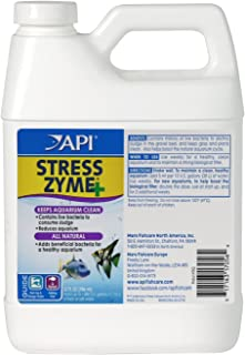 API STRESS ZYME Freshwater and Saltwater Aquarium Cleaning Solution 946ml Bottle