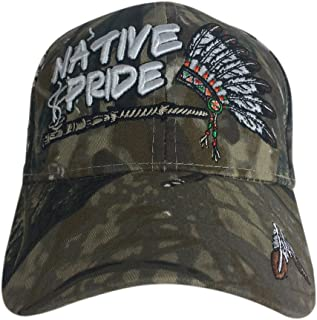 Artisan Owl Native Pride Hat -100% Cotton Embroidered Baseball Cap